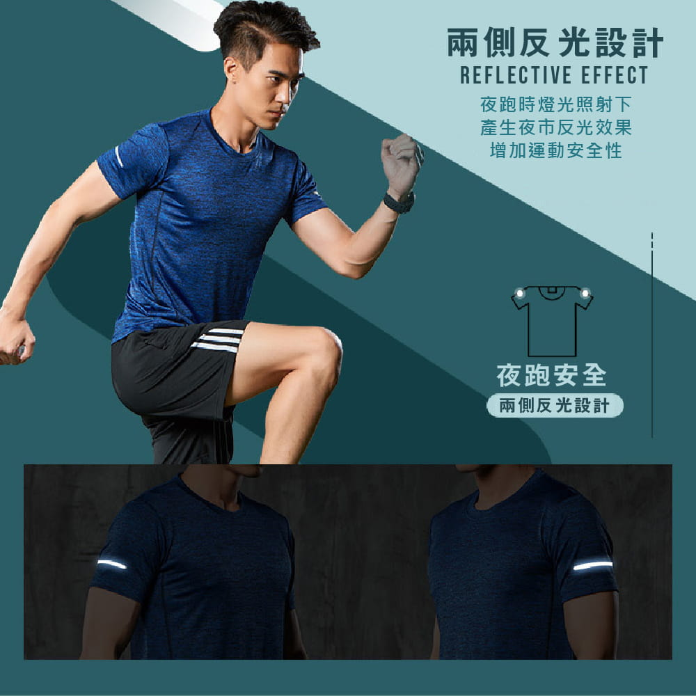 【NEW FORCE】運動機能吸濕排汗衫-4色可選 4