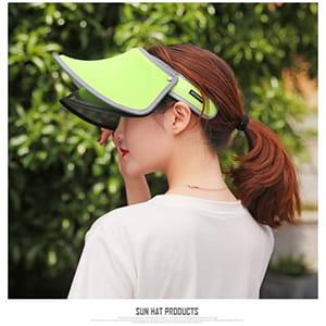 【JAR嚴選】升級版抗UV雙層可調式遮陽帽 0