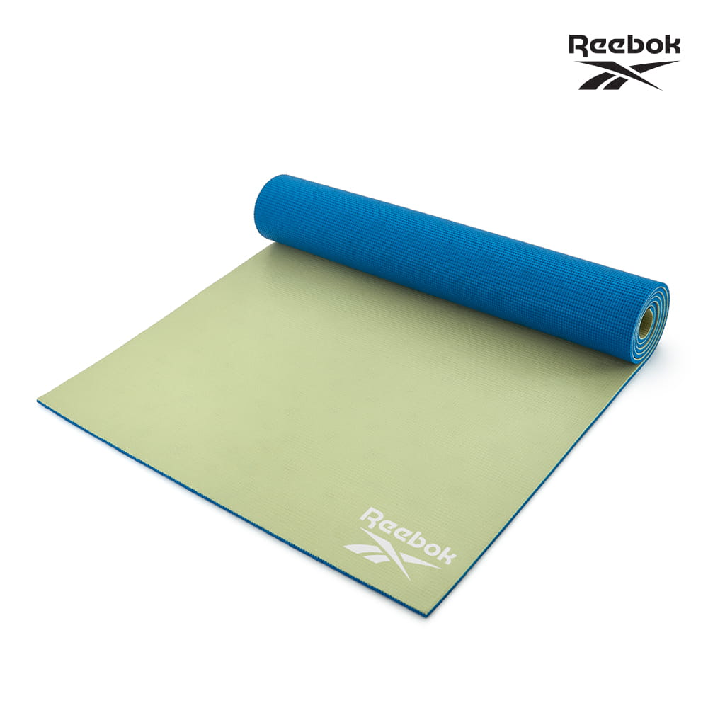 【Reebok】專業訓練雙色瑜珈墊-6mm(共三款) 1