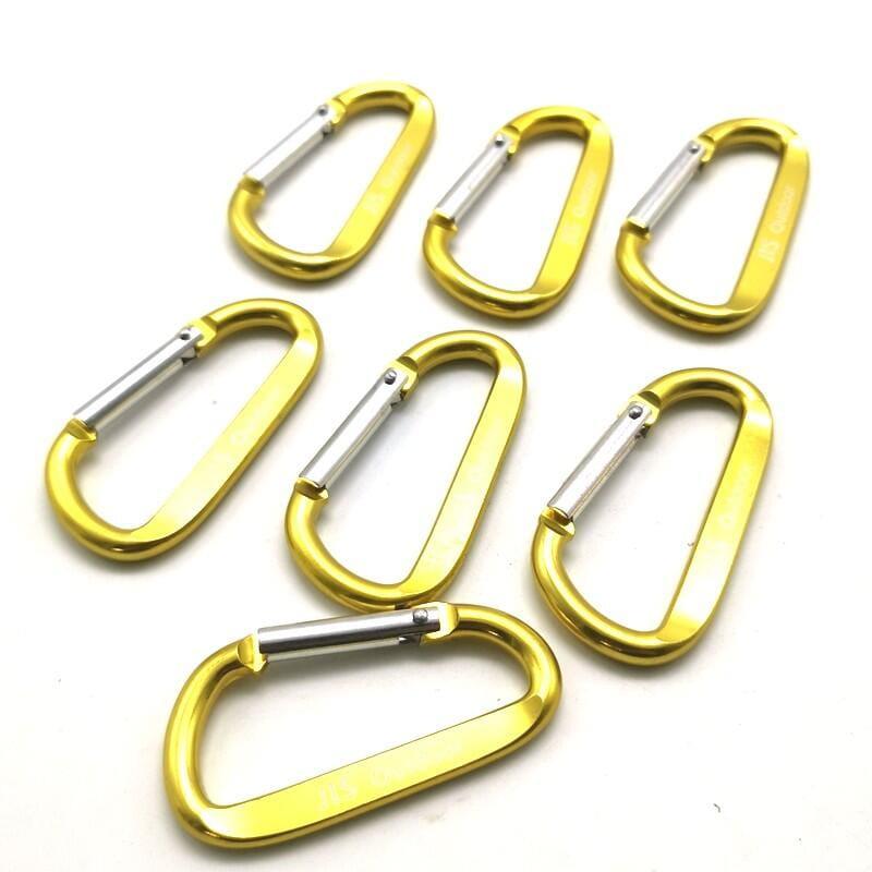 【珍愛頌】AJ088 附收納袋 鋁合金大號登山扣(10入) 8
