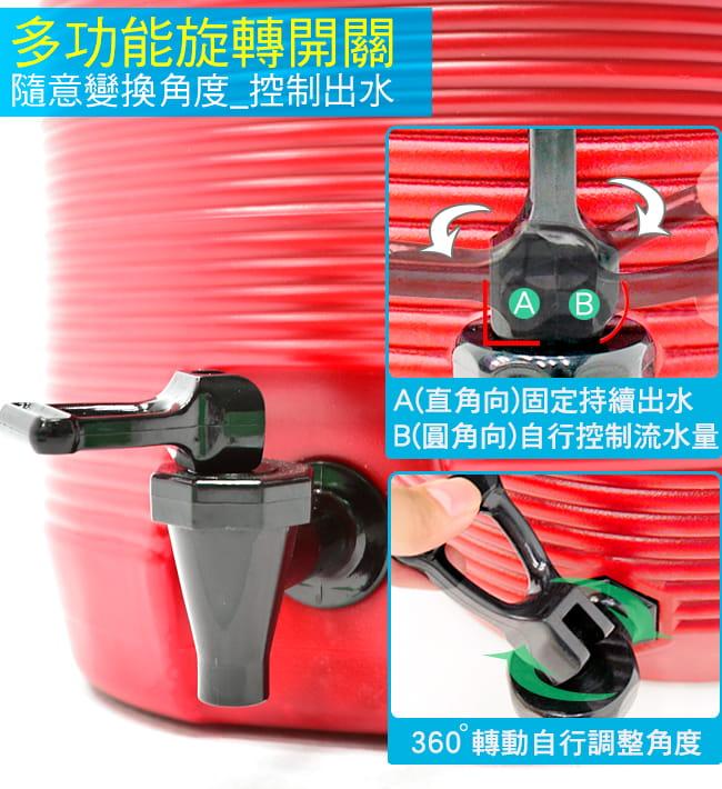 304不鏽鋼13L茶水桶   (13公升冰桶開水桶.保溫桶保溫茶桶) 8