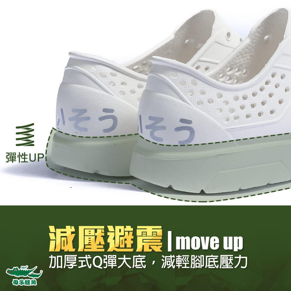 【母子鱷魚】 超輕玩水洞洞鞋 7