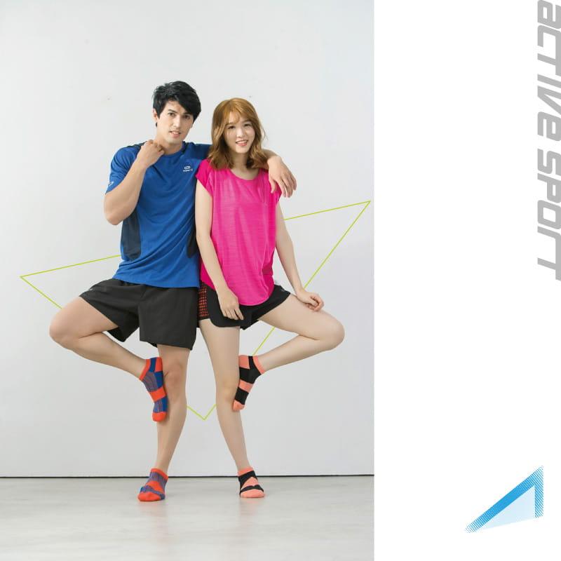 【Peilou】足弓護足氣墊船襪-條紋(男/女款) 9