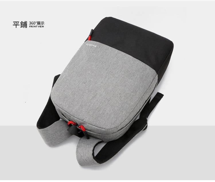 【JAR嚴選】防盜耐磨可充電式多功能雙肩電腦包 13