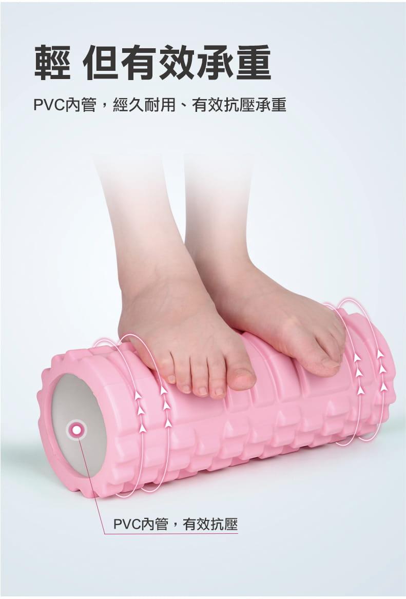 立體瑜珈柱按摩滾輪  肌肉筋膜放鬆 2