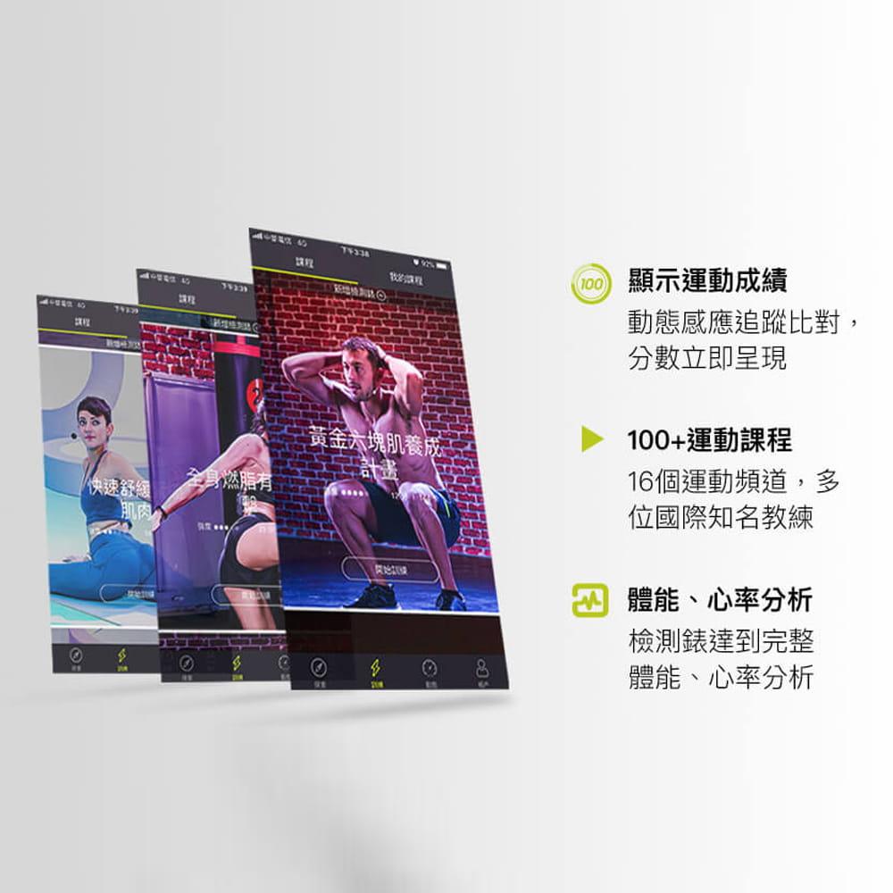 【Wonder Core】Wondercise光感應體力檢測錶+空中健身學院會員卡一年 4