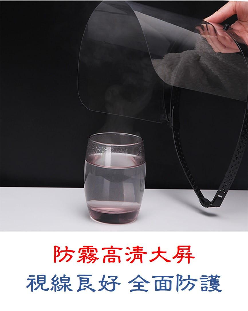 全臉高透明防疫面罩(可調控升級版) 3