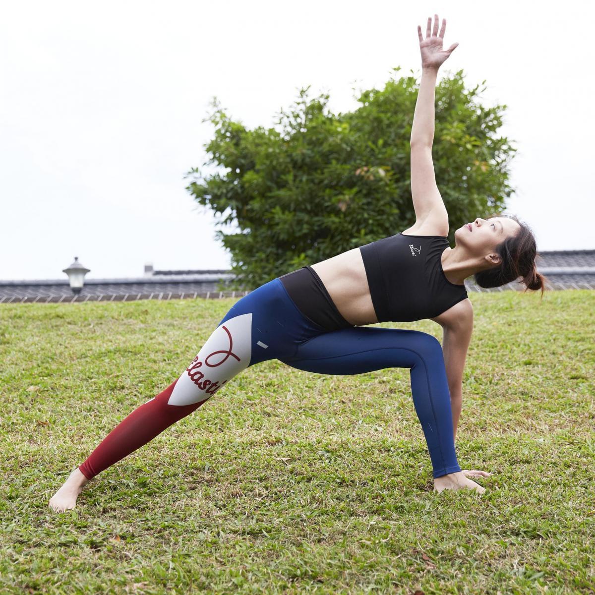 【ELASTI】典莎瑜珈褲(碘紗抗菌除臭機能)-信仰至上 4