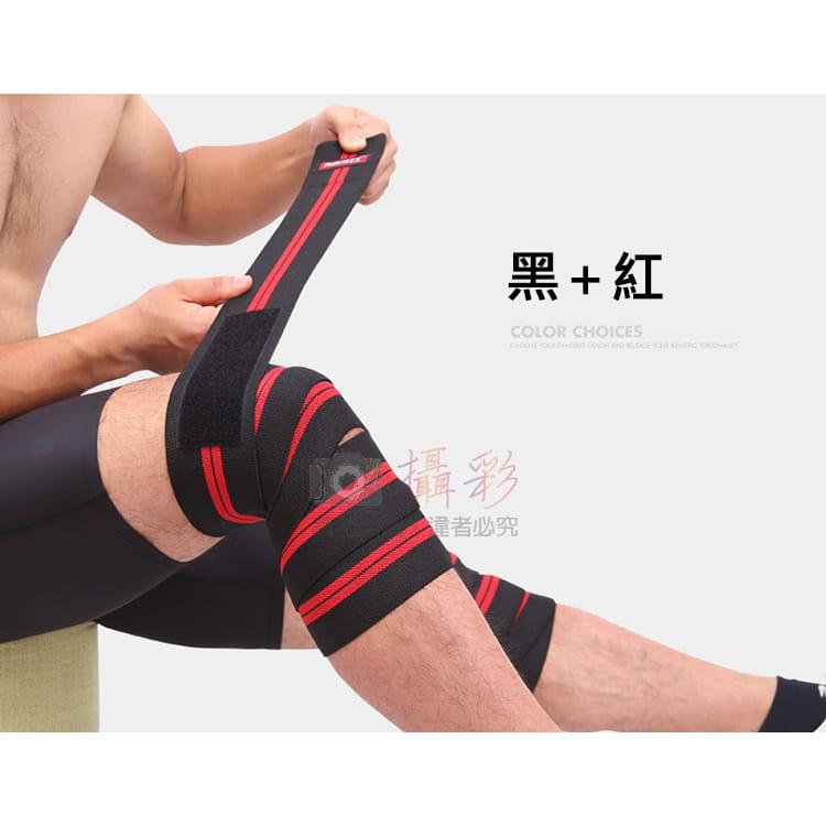 纏繞加壓綁帶護膝 9