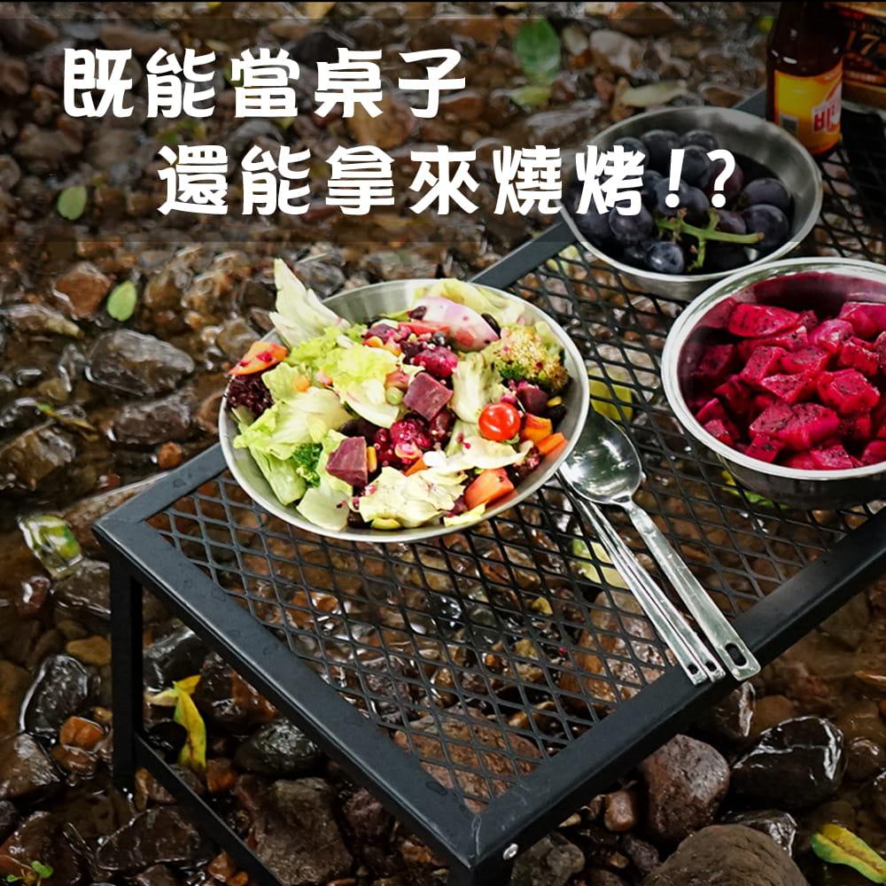 【Outkeeper】【outkeeper】防水摺疊鐵燒烤桌 1