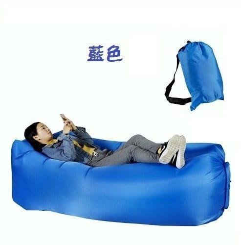 方便攜帶方頭款空氣懶人充氣沙發 6