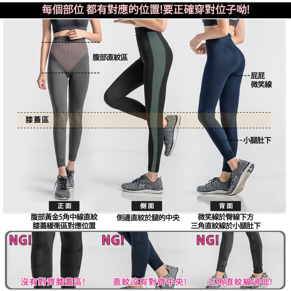 【BeautyFocus】台灣製微動感機能塑型褲2372 9